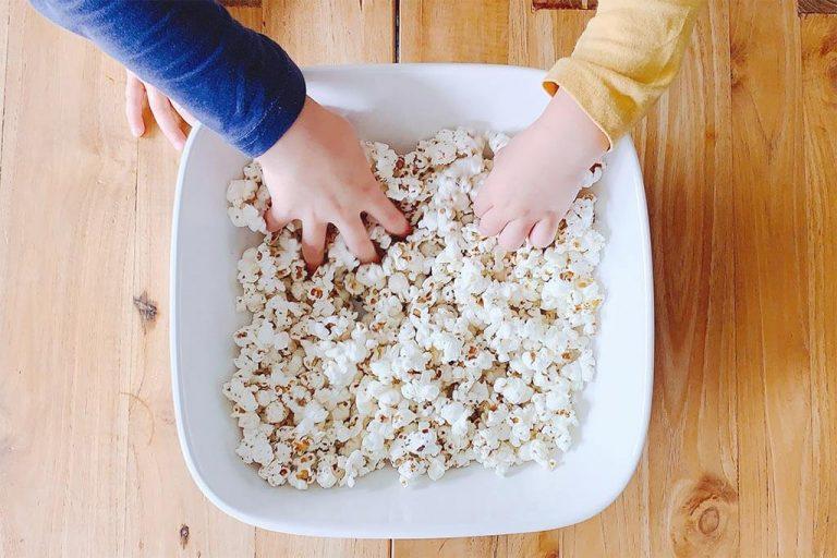 Zelf popcorn maken