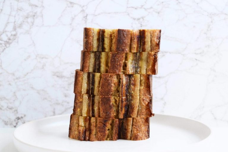 Stapel bananenbrood