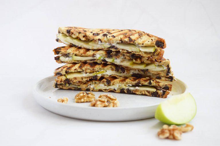 Krentenbrood-geitenkaas-tosti-2