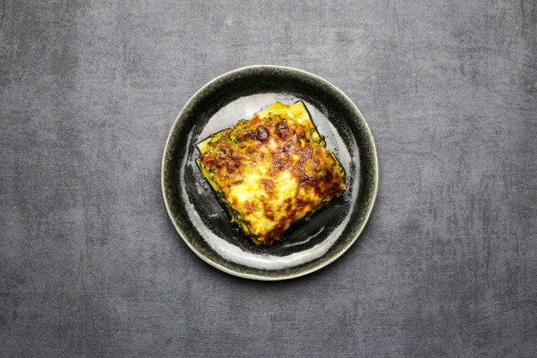 Vegetarische lasagne met cottage cheese