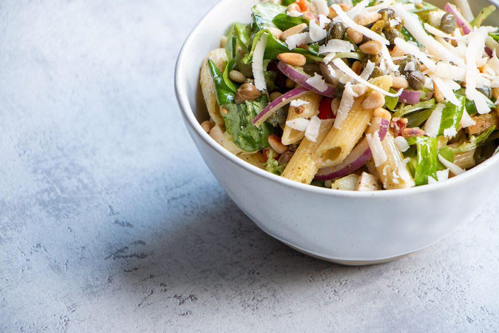 Kip pesto salade
